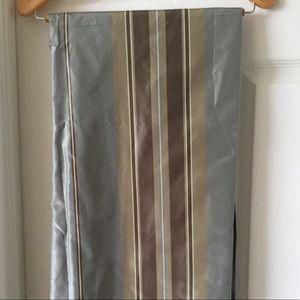 Restoration Hardware silk curtains